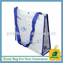 white plain pp plastic woven shopping bag,China Supplier
