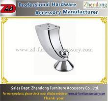 High quantity steel furniture legs /sofa feet ZD-C002