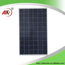 High performance 250w poly solar panels