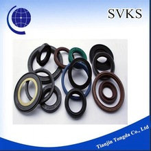 Black rubber silicone gasket oil seal
