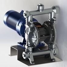 GODO CE certified Seal less design Inherent self priming design Electric motor driven double diaphragm pump