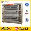 Verwendet kommerziellen Hotel küchenausstattung 1/2/3-schicht Pizza gas steinofen