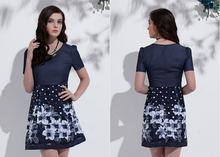 Ms51309w 2015 superior a la moda última mujer de los pantalones vaqueros se visten diseños