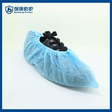 Chemical shoe blue anti-slip shoe cover disposable