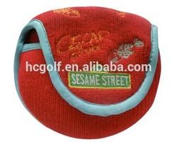 acrylic knitted animal golf club head cover
