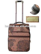 2012 Fancy Map trolley bag