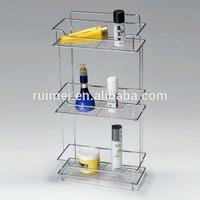 Table-top 3 Tiers Bathroom Corner Shampoo Shelf