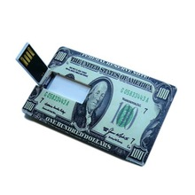 Innovative products us dollor card stick usb for pormo gifts items for sale in bulk