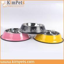 Cheap dog bowl feeder pet dog stainless steel bowl