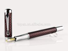 carbon fiber carved fountain pen parts TC-1010f