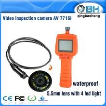 3.9mm probe video interface for vehicle engine diagnose / AV7716i