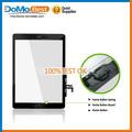 Venta al por mayor de la pantalla táctil del digitizador de cristal lente para el iPad aire de la pantalla táctil, Para el iPad 5 pantalla