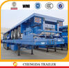China Manufacture New Condition 3 Axles Flatbed Brand Top Trailers for Sale
