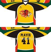 Healong Oem Lycra Minor League Hockey Jerseys