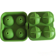 100% Food Grade New product most popular silicone ice ball maker tray