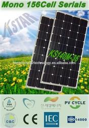 A-grade cell high efficiency 140w monocrystalline PV solar panel