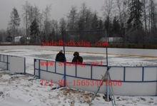 Uhmw-pe Synthetic ice hockey skate rink boards/ice rink boards