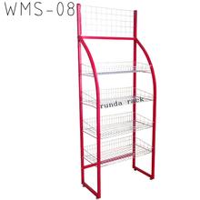 display stand mesh vegetable metal kitchen storage baker wire rack