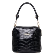 China Baigou factory wholesale imitation brand stone pattern handbag for young lady