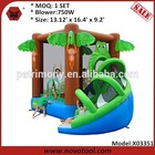 bounce house bouncer with slide