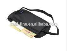 1pcs Travel Pouch Hidden Zippered Waist Compact Security Money Waist Belt Bag