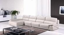 Top grain leather sofa living room sofa design