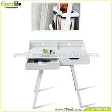 Bedroom furniture wooden dresser with mirror