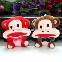big mouth small plush monkey