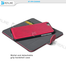 Best selling products wallet detachable cover case for iphone 6