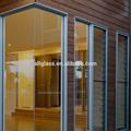 4 mm 5 mm 6 mm 8 mm 10 mm 12 mm de vidrio templado transparente para la construcción