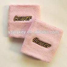 pink terry sweatband