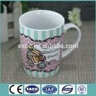 hunan porcelain super white tea mug for us market
