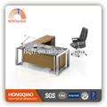 Dt-11 moderno y nuevo diseño de escritorio de oficina marco mesa de oficina escritorio ejecutivo de marco de acero inoxidable escritorio ejecutivo