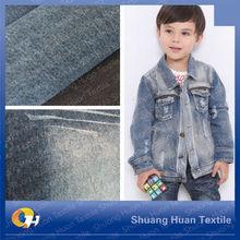 SH-W863 9.7oz Indigo Denim Fabric Made In China For Children