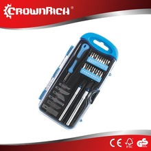 31pc button bit rock drilling tools set