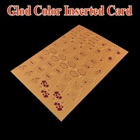 High quality cheap cake topper decoration card/cake wedding toppers/birthday cake topper cards/glod color inserted card