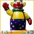 Colorido palhaço figura, Desenhos animados infláveis, Modelo inflável