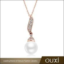 OUXI Factory wholesale wholesale korean style modern pearl necklace design