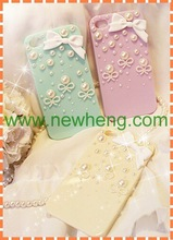 luxury handmade diamond bling back cover case for iphone6/6 plus
