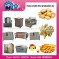 congelés de pommes de terre frites machine frites et lisse