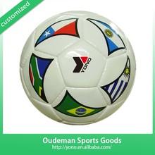 Deflated Soccer Ball Design Factory TPU/PVC/EVA/PU YNSO-051 Used Glow Indoor Soccer Balls