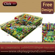 animal shape pretty maze style cheerful indoor wooden playground slide