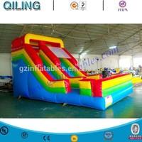 Slide Inflatable Bouncer, Inflatable Cartoon Slide, Dry Inflatable Slide for Sale