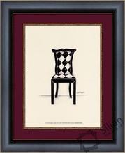 modern chair painting