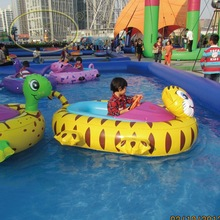 Exclusive Manufacturer Fwulong CE And TUV Water Play Electric Inflatable Battery Bumper Boat