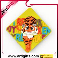 Wholesale custom design soft pvc custom cartoon fridge magnet
