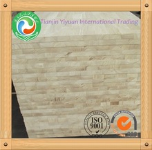Rubber wood finger jointed panel from manufacturer