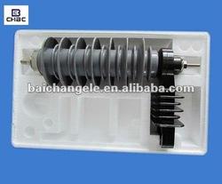 New design high quanlity low price 24KV 5KA of power lighting surge arrestor