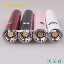 Newest Super Slim Electronic Cigarette USB Passthrough Battery, 320mah Micro 5pin MU510 E Cigarette Battery