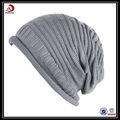 Venta al por mayor baratos personalizados 100% de algodón de punto beanie hat cap